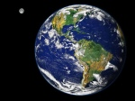 planète et lune