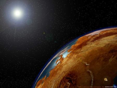 planète gros plan